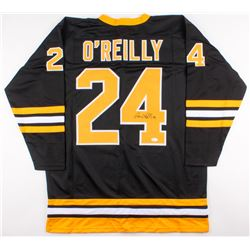 Terry O'Reilly Signed Bruins Captain Jersey (JSA COA)