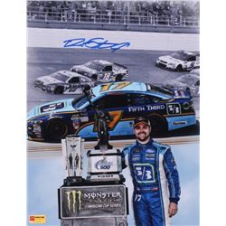"Ricky Stenhouse Jr. Signed NASCAR 2017 Talladega ""First Win"" 11x14 Photo (PA COA)"