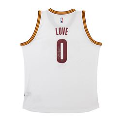 Kevin Love Signed Cavaliers Jersey (UDA COA)