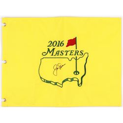 Jack Nicklaus Signed 2016 Masters Tournament Golf Pin Flag (JSA ALOA)