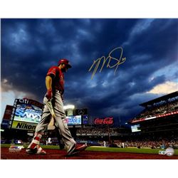 Mike Trout Signed Angels 16x20 Photo (MLB Hologram)