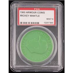1960 Armour Coins Mickey Mantle (PSA 9)