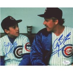 "Thomas Ian Nicholas  Gary Busey Signed ""Rookie of the Year"" 8x10 Photo Inscribed ""God Bless"" (JSA CO"