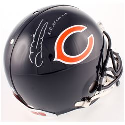"""Mike Ditka Signed Bears Full-Size Authentic On-Field Helmet Inscribed """"SB XX Champs"""" (Schwartz COA)"""