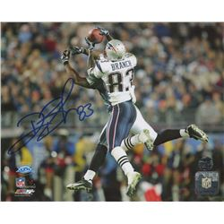 Deion Branch Signed Patriots 8x10 Photo (Patriots Alumni COA)