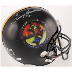 Terry Bradshaw Signed LE Steelers Full-Size Helmet (UDA Hologram  JSA COA)
