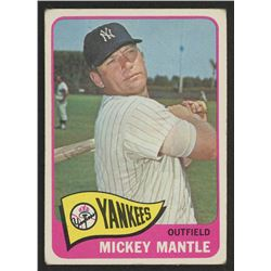 1965 Topps #350 Mickey Mantle