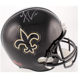Michael Thomas Signed LE Saints Full-Size Helmet (JSA COA)