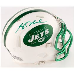 Sam Darnold Signed Jets Custom Matte White Speed Mini Helmet (Radtke COA)