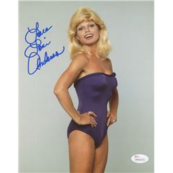 "Loni Anderson Signed 8x10 Photo Inscribed ""Love"" (JSA COA)"
