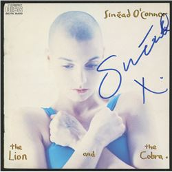 """Sinead O'Connor Signed """"The Lion and the Cobra"""" CD Cover Insert (JSA COA)"""