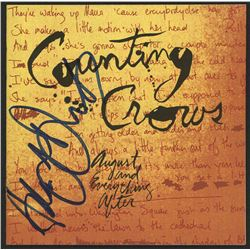 """Adam Duritz Signed """"Counting Crows"""" CD Cover Insert (JSA COA)"""
