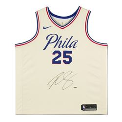 Ben Simmons Signed 76ers City Edition Jersey (UDA Hologram)
