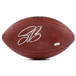 Saquon Barkley Signed Full-Size NFL Football (Panini COA)