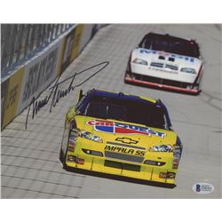 Mark Martin Signed NASCAR 8x10 Photo (Beckett COA)