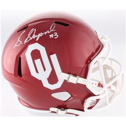 Sterling Shepard Signed Oklahoma Sooners Full-Size Speed Helmet (Fanatics Hologram)