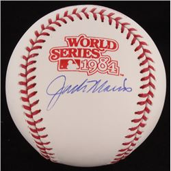 Jack Morris Signed 1984 World Series Baseball (Schwartz COA)