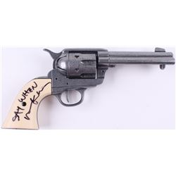"Val Kilmer Signed ""Tombstone"" Replica Pistol Inscribed ""Say When"" (Beckett COA)"
