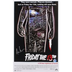 "Ari Lehman Signed ""Friday the 13th"" 11x17 Movie Poster Photo (Fiterman Sports Hologram)"