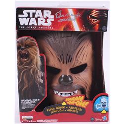 "Peter Mayhew Signed ""Star Wars The Force Awakens"" Chewbacca Mask Inscribed ""Chewbacca"" (Steiner COA)"