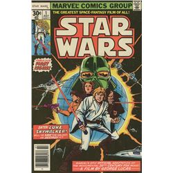 "1977 ""Star Wars"" Issue #1 Marvel Comic Book (Reprint)"