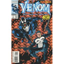"1993 ""Venom"" Issue #1: Co-Starring The Punisher Marvel Comic Book"