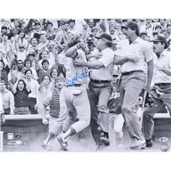 George Brett Signed Royals 16x20 Photo (Beckett COA)