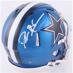 Deion Sanders Signed Cowboys Blaze Speed Mini Helmet (JSA COA)
