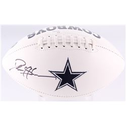 Deion Sanders Signed Cowboys Logo Football (JSA COA)