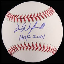 "Dave Winfield Signed OML Baseball Inscribed ""HOF 2001"" (JSA COA)"
