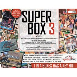 """Super Box 3""- Sportscards.com Premium Sports Card Mystery Box!"