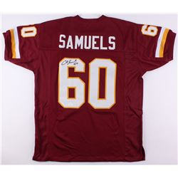 Chris Samuels Signed Redskins Jersey (JSA COA)