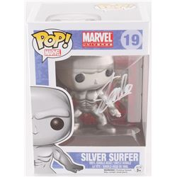 "Stan Lee Signed ""Silver Surfer"" #19 Funko Pop! Bobble-Head Figure (Lee Hologram  Radtke COA)"