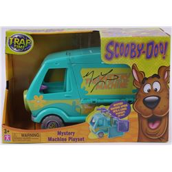"Matyhew Lillar Signed ""Scooby-Doo"" Mystery Machine Playset (Radtke COA)"