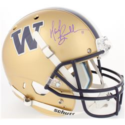 Mark Brunell Signed Washington Huskies Full-Size Helmet (Radtke COA)