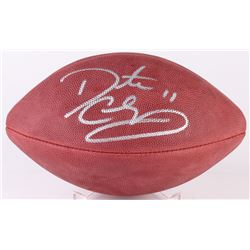 Daunte Culpepper Signed NFL Football (Fanatics Hologram  Mounted Memories COA)