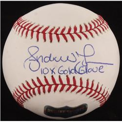 Andruw Jones Signed OML Baseball (Radtke COA)
