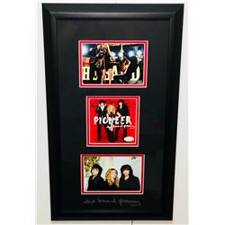 """Kimberly Perry, Neil Perry  Reid Perry Signed """"The Band Perry"""" 13x22 Custom Framed CD Cover Display"""