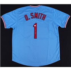 Ozzie Smith Signed Cardinals Jersey (JSA COA)