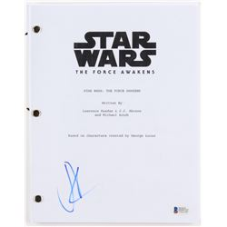 "J.J. Abrams Signed ""Star Wars: The Force Awakens"" Full Movie Script (Beckett COA)"