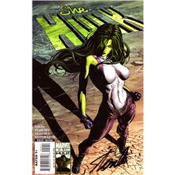 "Stan Lee Signed ""She-Hulk"" Comic Book (Stan Lee COA)"