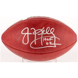 "Jim Kelly Signed Official NFL Game Ball Inscribed "" HOF 02"" (Radtke COA  Kelly Hologram)"