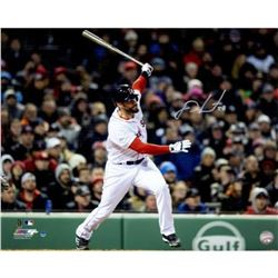 J. D. Martinez Signed Red Sox 16x20 Photo (Steiner COA)