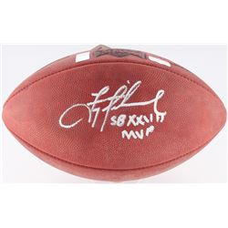 "Troy Aikman Signed Super Bowl XXVII NFL Official Game Ball Inscribed ""SB XXVII MVP"" (Aikman Hologram"