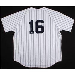 "Whitey Ford Signed Yankees Jersey Inscribed ""HOF 74"" (Beckett Hologram)"