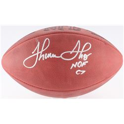 "Thurman Thomas Signed Official NFL Game Ball Inscribed ""HOF 07"" (Radtke COA)"