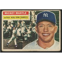 1956 Topps #135 Mickey Mantle