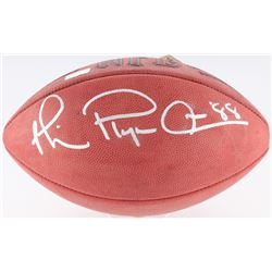 "Michael Irvin Signed NFL Football Inscried ""Playemaker"" (Radtke COA)"