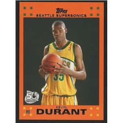 2007-08 Topps Rookie Set Orange #2 Kevin Durant