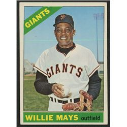 1966 Topps #1 Willie Mays